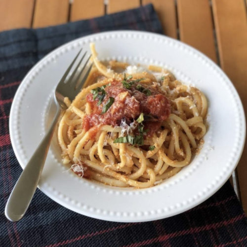 short rib with marinara sauce recipe